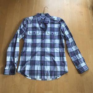 Express Extra Slim Fit Dress Shirt, button down